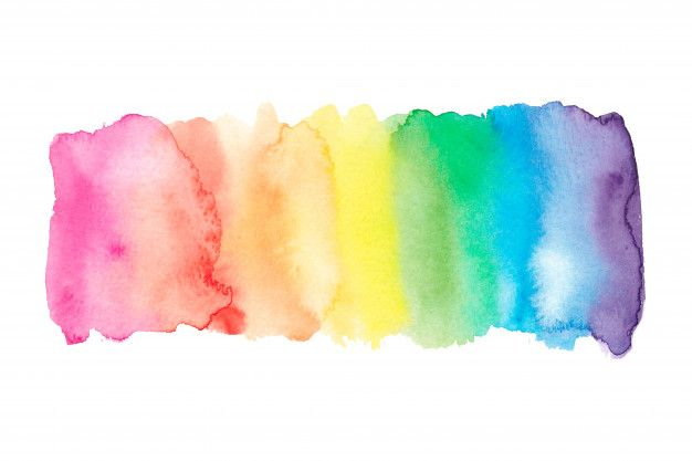 Watercolor Rainbow Background In 2020 Paper Background Design Watercolour Texture Background Rainbow Background