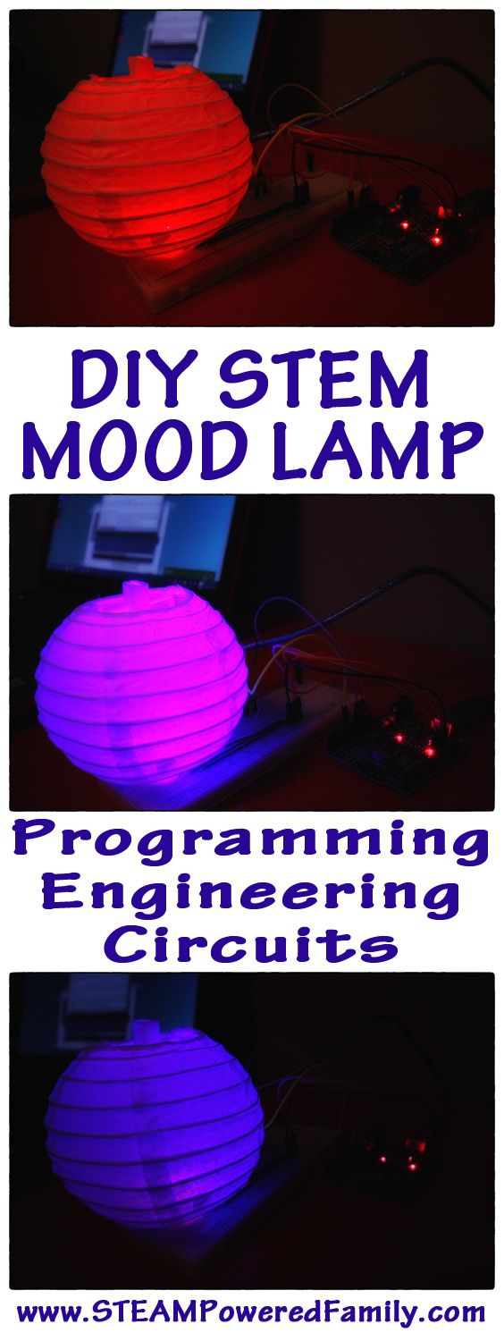 DIY Mood Lamp. Learn electronics, circuits, programming, technology and engineering with this exciting new STEM educational program. Delivered to your door!