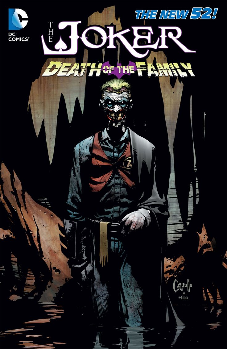 Preivew: The Joker: Death Of The Family Hardcover Book