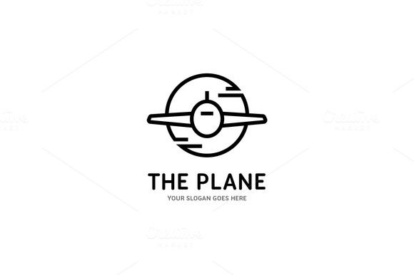 The Plane by yellowline on @creativemarket