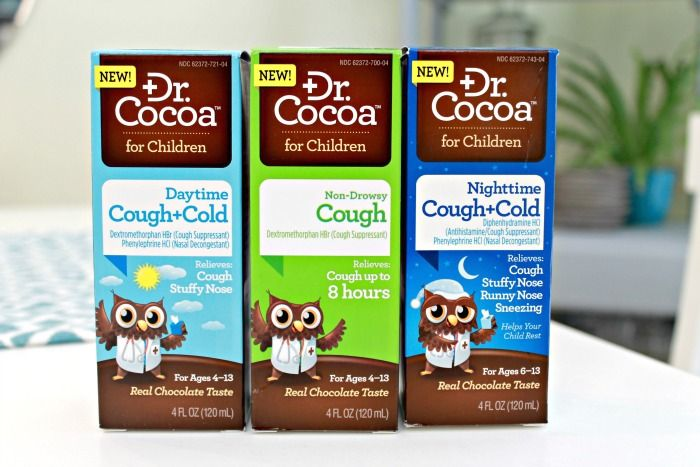 Dr. Cocoa...Children's Medicine That Tastes Like Chocolate...not even kidding! #ad #DrCocoaReliefWithASmile