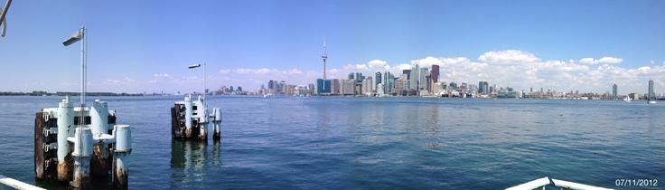 Toronto Island stitched landscape using my iPhone 4s