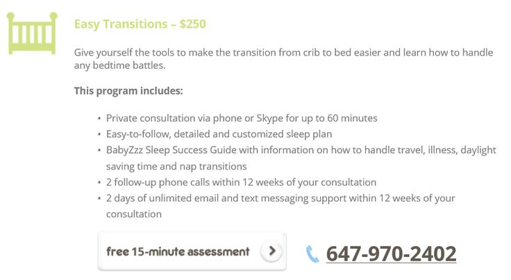 Give yourself the tools to make the transition from crib to bed easier and learn how to handle any bedtime battles. http://www.babyzzz.ca/sleep-solutions/