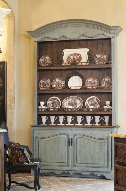 Dining Room Open Hutch
