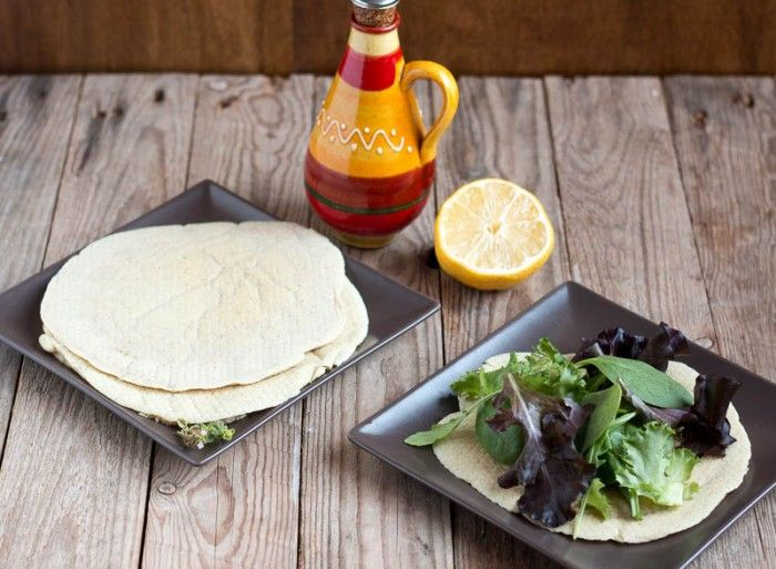 Receta de Pan Pita Sin Gluten (Paleo) - Powered by @ultimaterecipe