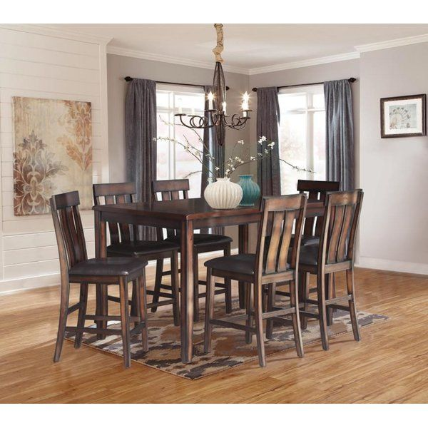 You Ll Love The Widman 7 Piece Pub Table Set At Wayfair Great Deals On All Furniture Products With Free Shipping On Pub Table Sets Dining Room Sets Pub Table