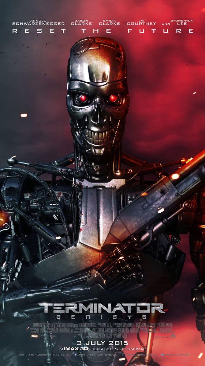 Terminator Genesis.......cambiaron todo lo que hemos sabido desde hace muchos años, todo con la intencion de hacer una nueva trilogia que seguramente producira mucho dinero. La verdad no quede muy contento, pero ni modo, el cine es asi.
