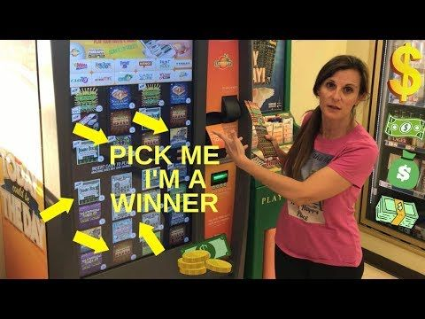 SCRATCH OFF TICKETS - How to Pick a Winning Lottery Ticket