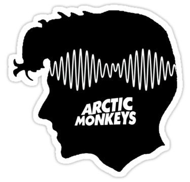 Resultado de imagem para arctic monkeys stickers