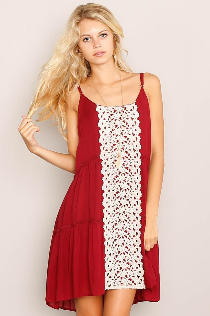 Darlove Jones Crochet Front Dress