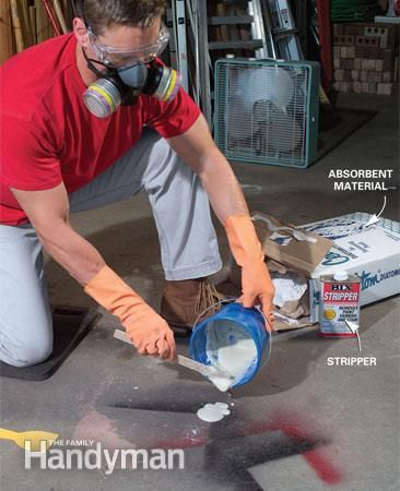 22 best images about 2015 garage on pinterest stains for Best way to remove oil from concrete