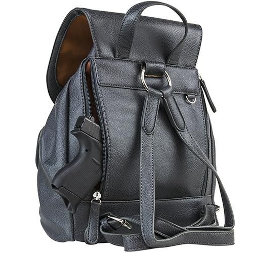 Concealed Carry Womens Backpack-Urban Gry