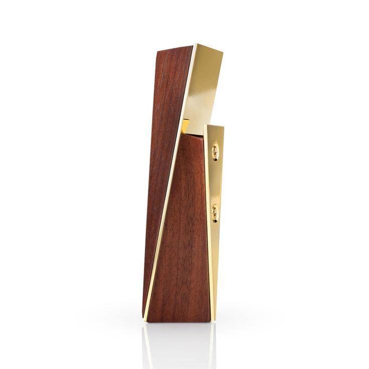 Viski Acacia & Gold Bottle Opener