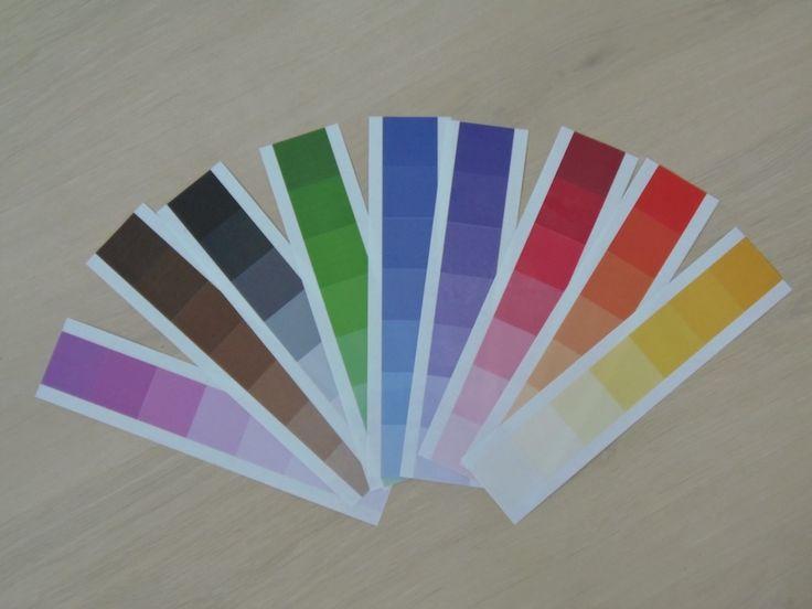 Tutorial caja de color Montessori - DIY Color box