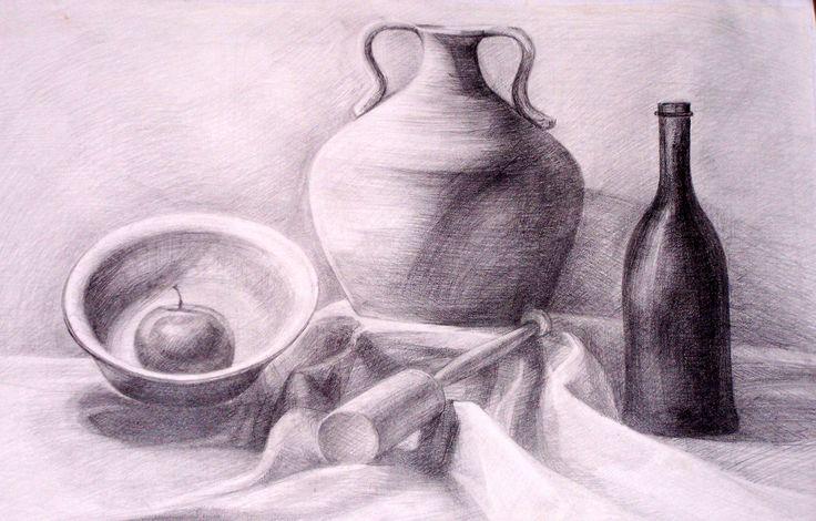 Drawing in pencil (Still Life)