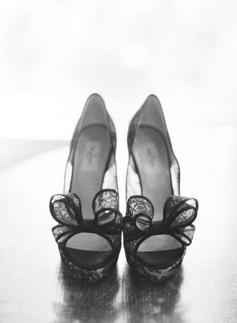 bows #wedding shoes
