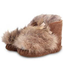 *NEW* Dutch Baby Booties - Rabbit Fur | ella+elliot | Toronto | Vancouver | Canada | ellaandelliot.com
