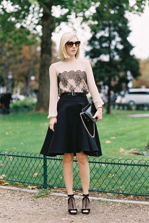 Vanessa Jackman: Paris Fashion Week SS 2013....Jane