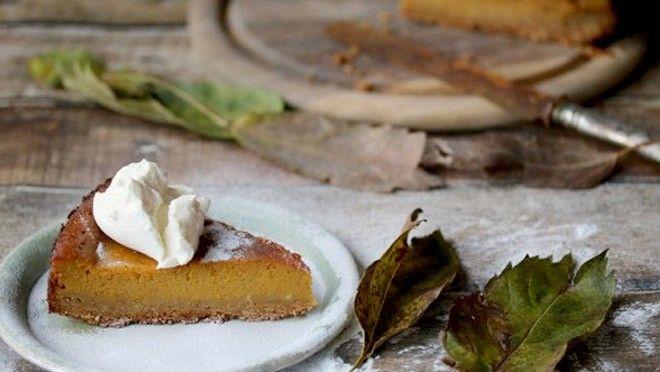 Een herfstige pompoentaart - recept | 24Kitchen