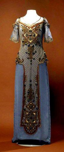 Callot Soeurs evening dress, 1910-1915.