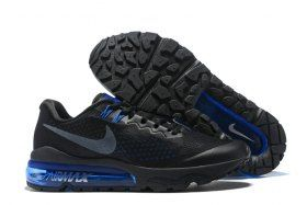 new product 14306 141f6 Ventilation Nike Air VaporMax Flyknit Black Navy Blue 859666 006 Mens  Running Shoes Trainers