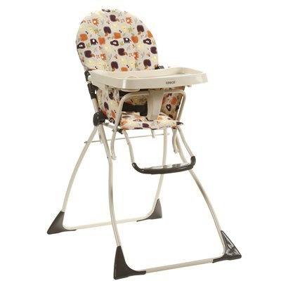 Cosco Flat Fold High Chair Fruity Jungle Discontinued By Manufacturer
