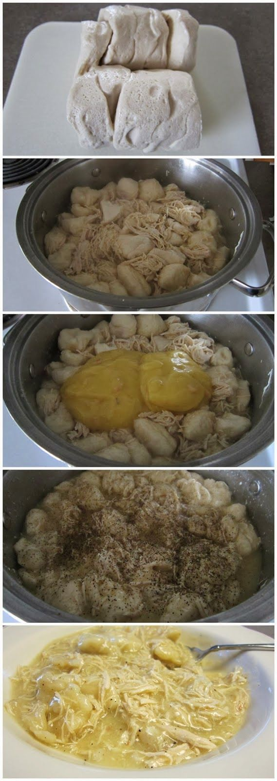 Quick and Easy Chicken and Dumplings - Sweetfinders Good.