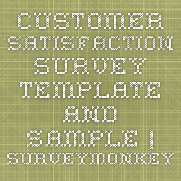 Best 25+ Survey template ideas on Pinterest Student images - make a survey in word