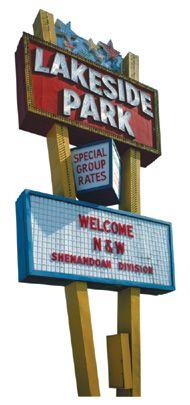 Lakeside Amusement Park (Salem, VA)...closed in '86. -first roller coaster I ever rode!