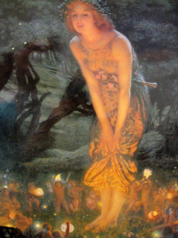 Midsummer Eve - Fairies by Edward Robert Hughes