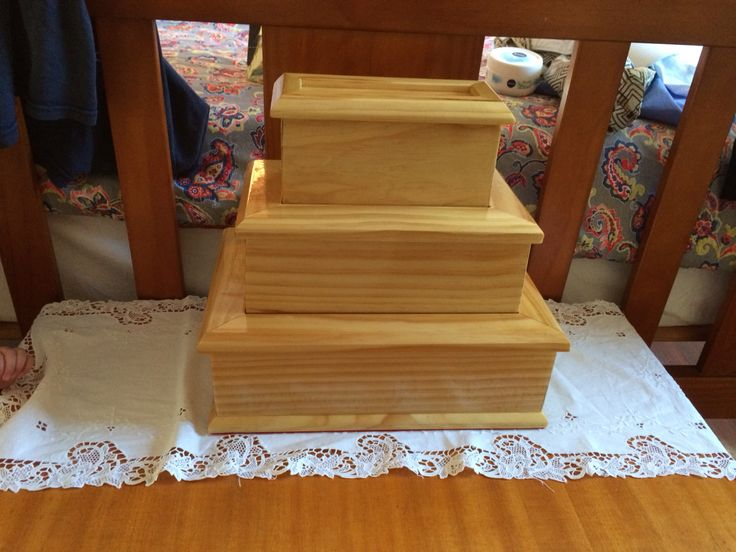 Jewellery stack boxes