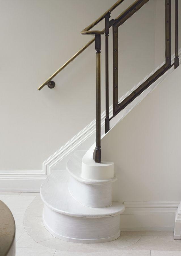 Beautiful banister rails. Parisian Townhouse « Kathryn Scott Design Studio