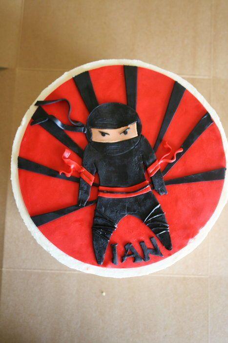 25 Best Ideas About Ninja Cake On Pinterest Ninja