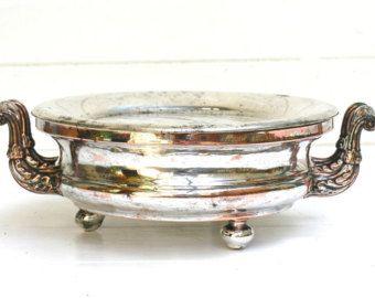 1800, francese antico argento piastra, grande stile, francese centro di decorazioni per la casa, centrotavola, tavola