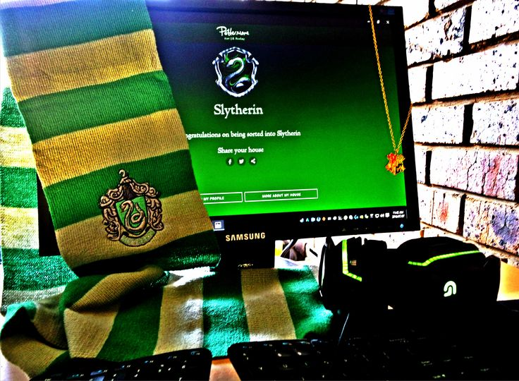 """You could be great, you know, and Slytherin will help you on the way to greatness, no doubt about that."" —The Sorting Hat to Harry Potter  www.propsandcollectibles.com  #harrypotter #slytherin #dracomalfoy #southafrica #onlinestore #hogwarts"