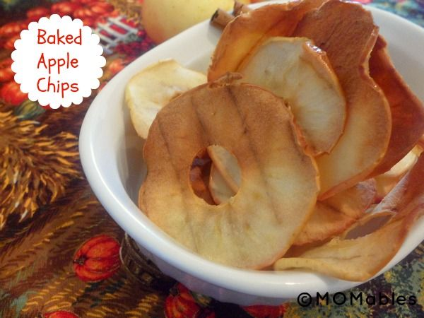 My friend asked me to bring baked apple chips for her #paleo #Thanksgiving, and these fit the bill AND don't take hours upon hours in the oven.