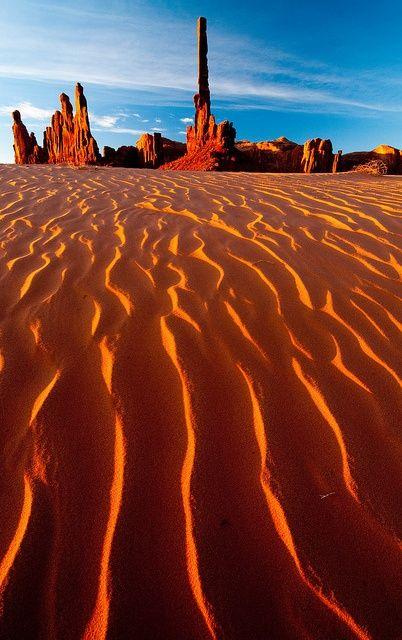 Totem Pole Dunes, Arizona