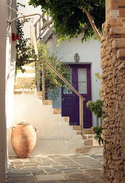 A morning in Folegandros Greece