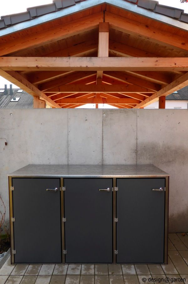 Mülltonnenbox @boxx von design@garten