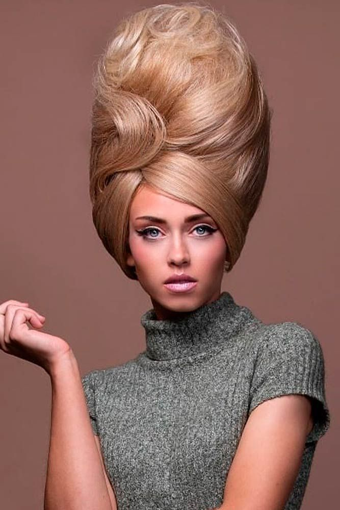 Beehive Hair Impressive Trend Straight From The 60s Glaminati Com Behive Hairstyles Beehive Hair Bouffant Hair