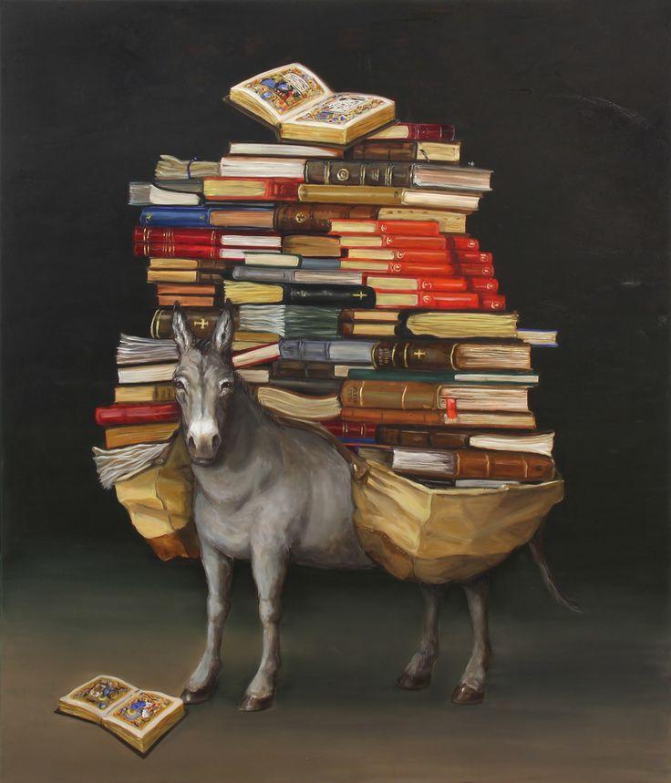 joanna braithwaite the good book (2015)  oil on canvas, stretcher: 1985 x 1680 x 22 mm