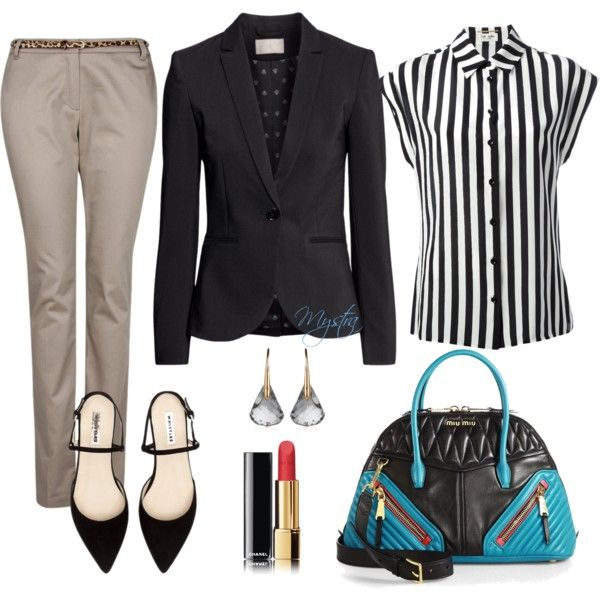 """Office chic"" by cafemystra on Polyvore"