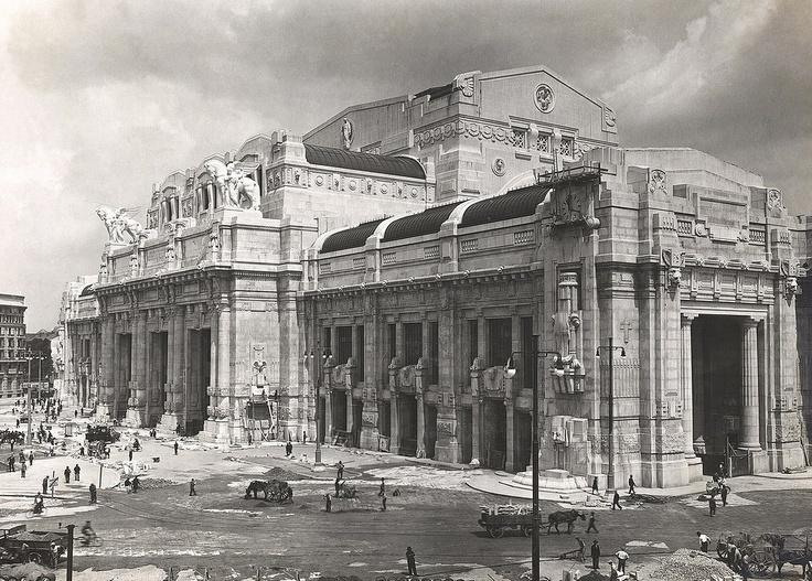 Milano Centrale station, 1929  #milan