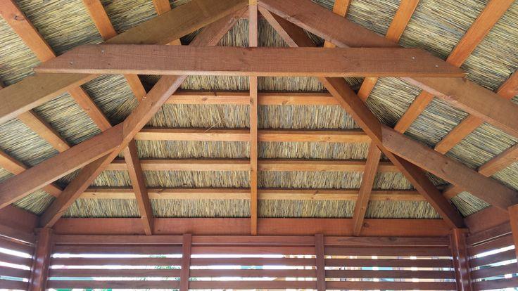 hut roof
