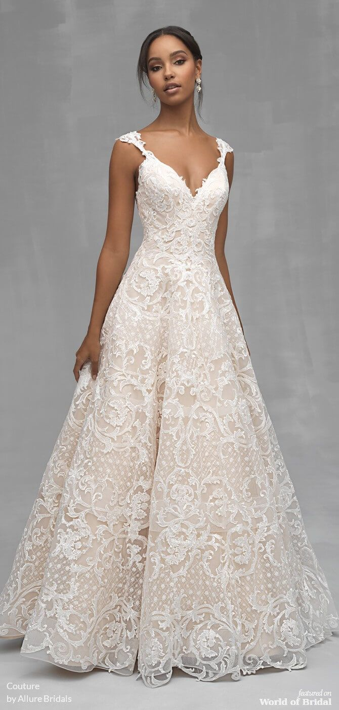 Couture By Allure Bridals Spring 2019 Wedding Dresses World Of Bridal Wedding Dress Couture Allure Bridal Couture Allure Bridal