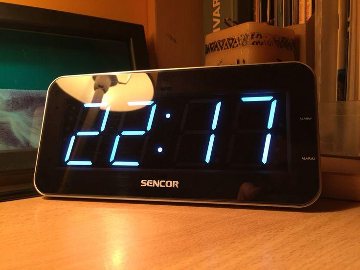 Sencor SDC 130 WH LED alarm clock