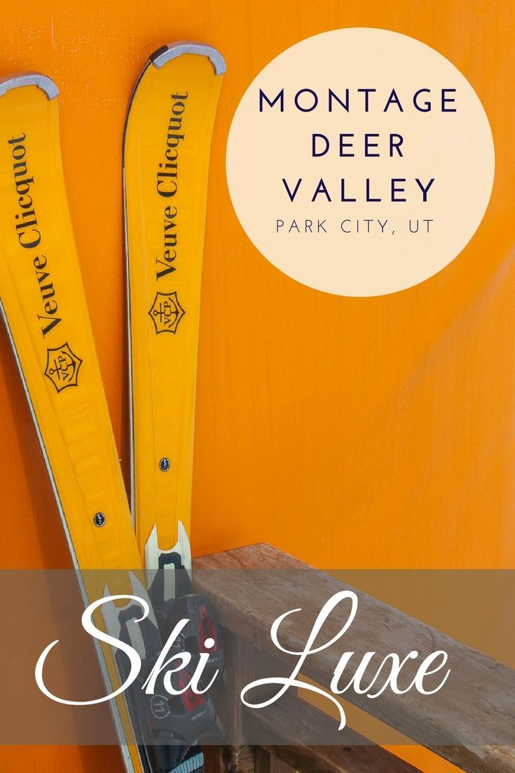 The Montage Deer Valley in Park City, Utah is one of the best lluxury ski resorts for families and kids. The Veuve Cliquot Apres Ski hut keeps mom happy while the S'mores and kids' activties keep a family smiling.