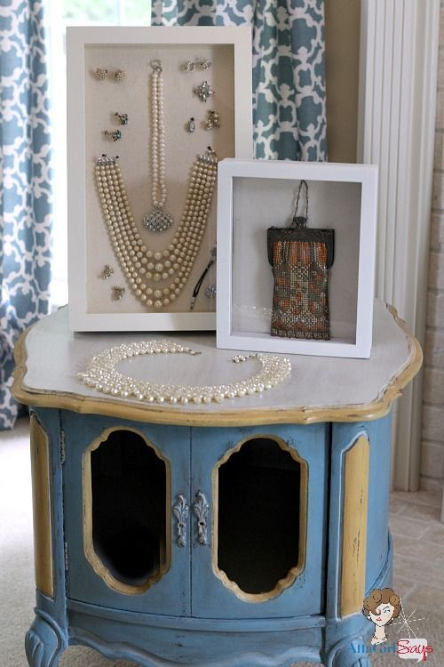 Top 25 Ideas About Jewelry Table Display On Pinterest