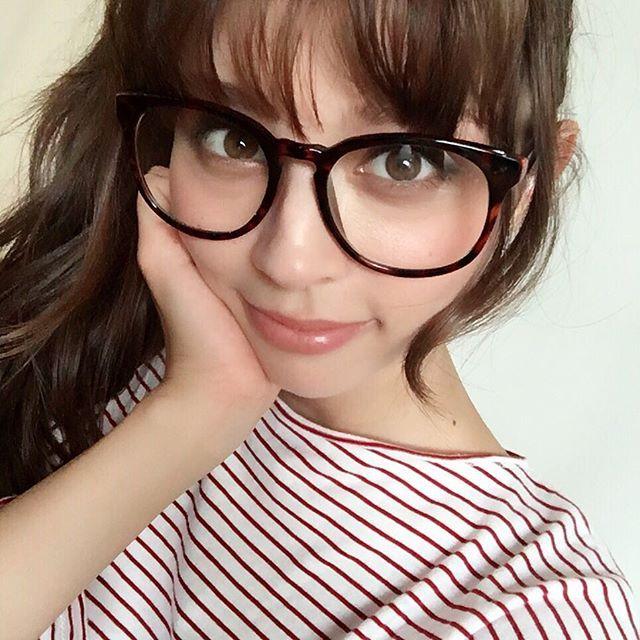 今日の撮影は終了です〜 こんな大きメガネで撮りました!ええやん❤️