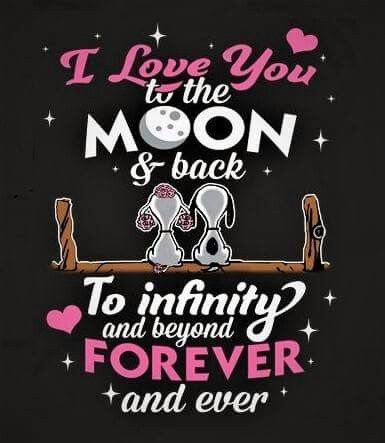 Yes our family is my everything I love them way more than just to the moon and back